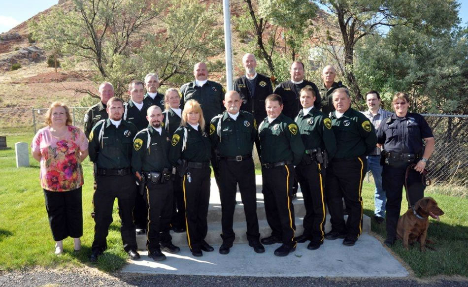 Hot Springs County Sheriffs Office Memorial Service