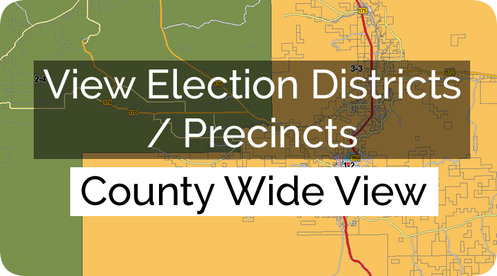 hot springs county election districts county view